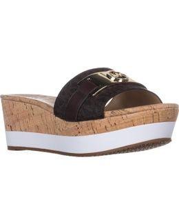 Michael Warren Platform Slide Sandals