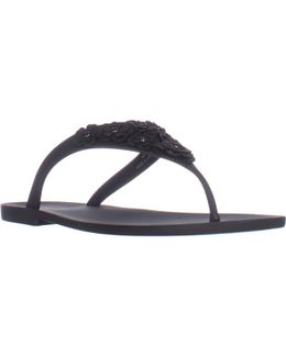 Vlora Flat Thong Jelly Sandals