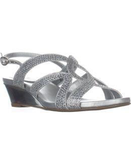Gomeisa Slingback Wedge Sandals