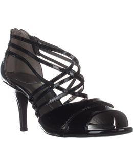 Marlisa Strappy Peep Toe Sandals