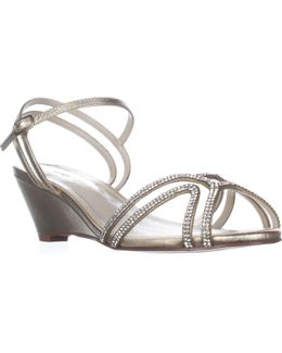 Hilton Low-heel Dress Wedge Sandals