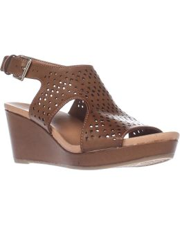 Barely Slingback Wedge Sandals