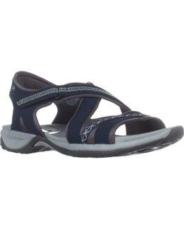 Dr. Scholls Panama Flat Sports Sandals