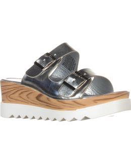 Branson Buckled Platform Sandals