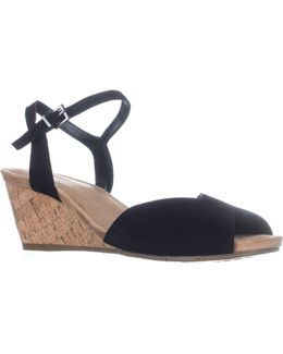 Cupcake Wedge Sandals