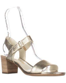 Jackie Ankle-strap Heeled Sandals