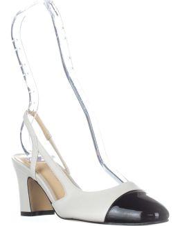 Liah Slingback D'orsay Heels
