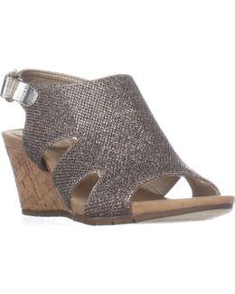Galedale Peep Toe Wedge Sandals