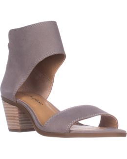 Lucky Barbina Low-heel Ankle Strap Sandals