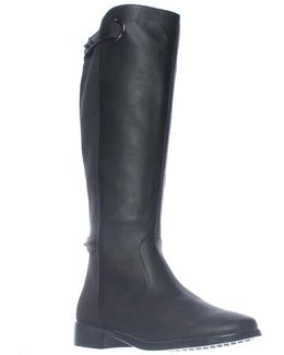 One Wish Expandable Calf Knee-high Riding Boots