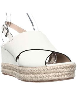 Triana Espadrille Slingback Wedge Sandals