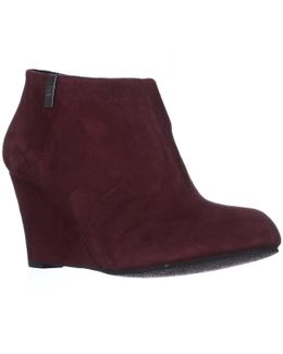 Ak Trumble Wedge Ankle Booties