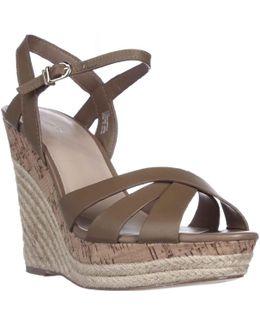 Astro Wedge Cork Espadrille Sandals