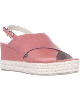 Triana Espadrille Slingback Wedge Sandals