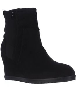 Beula Wedge Ankle Boots