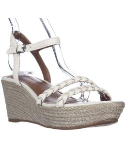 Lyall Espadrille Wedge Braided Strap Sandals
