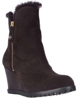 Michael Whitaker Winter Shearling Lined Tall Boots