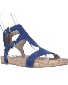 Lamuela Ankle Strap Flat Sandals