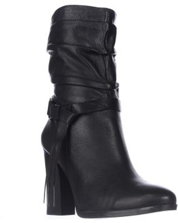 Tamsin Mid-calf Slouch Western Boots