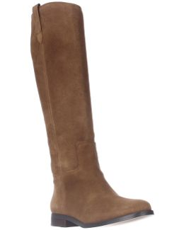 Addee Suede Knee-High Boots
