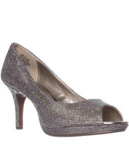 Supermodel Peep-toe Pump Heels