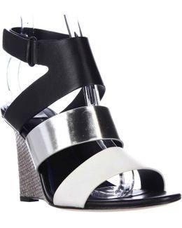 Elie Palma Wedge Strap Sandals