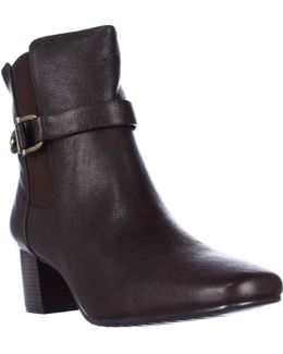 Lorillar Side Buckle Dress Booties