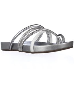 Jiyana Toe Loop Slide Sandals
