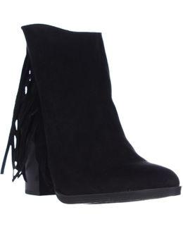 Shaare Side Fringe Western Boots