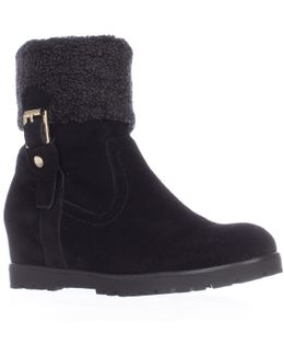 Soffia Wedge Winter Ankle Boots
