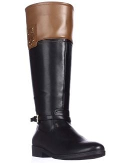Drea2 Wide Calf Knee-high Riding Boots