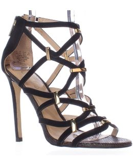 Paulina Caged Dress Sandals