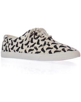 Carrie Van Hise Birds Low-top Lace Sneakers