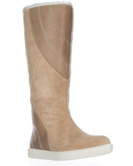 Yuma Faux Fur Lining Tall Winter Boots