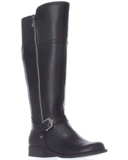 G By Hailee Riding Boots - Black