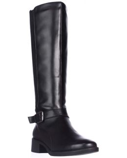 Nadette Flat Riding Boots