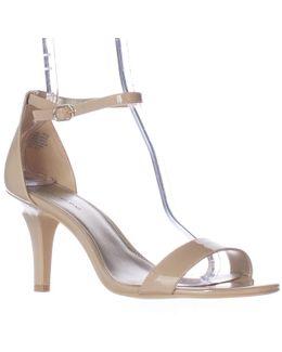 Madia Ankle Strap Peep Toe Sandals