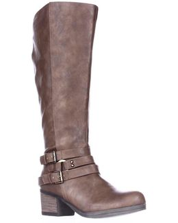 Camdyn Wide Calf Riding Boots