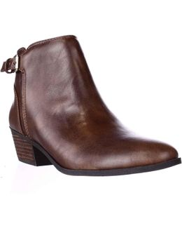 Beckoned Buckle Ankle Boots