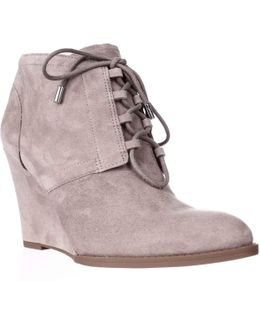 Lennon Lace Up Ankle Booties