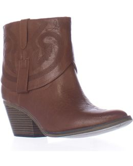 Joshua Short Western Ankle Boots