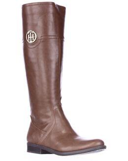 Silvana Logo Riding Boots