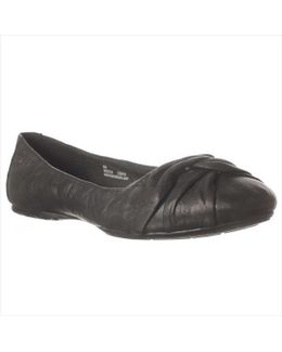 Lilly Wrap Toe Ballet Flats
