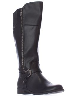 G By Hailee Wide Calf Riding Boots