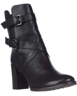 Layne Mid Calf Lug Sole Buckle Boots