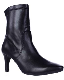 Excess Pointed Toe Dress High Ankle Boots