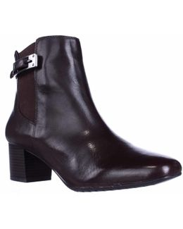 Lethia Dress Ankle Boots - Dark Brown/dark Brown