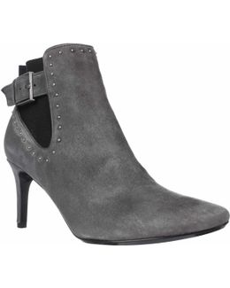 Jozie Studded Pointed Toe Ankle Booties