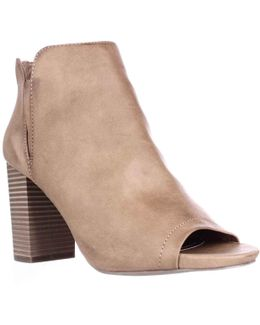 Fiizzle Peep Toe Ankle Booties