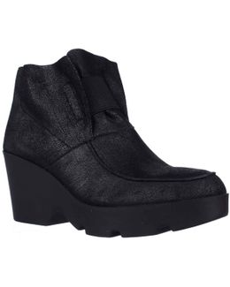 Treat Platform Ankle Boots